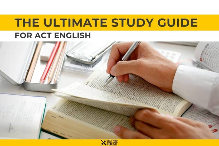 The Ultimate Study Guide for ACT English