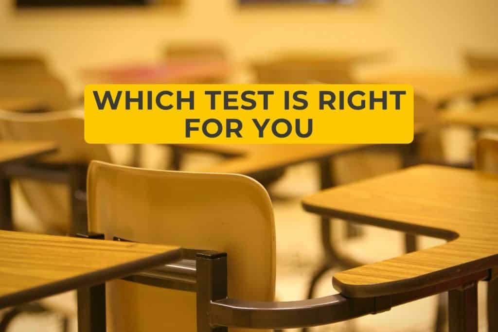 Which Test Is Right for You