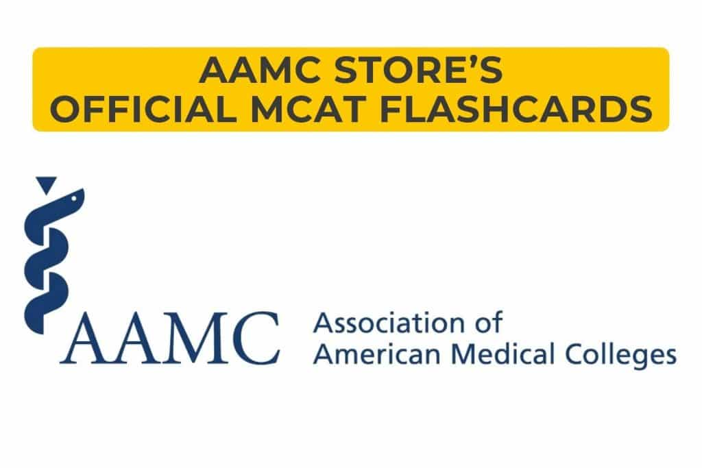 AAMC Store's Official MCAT Flashcards